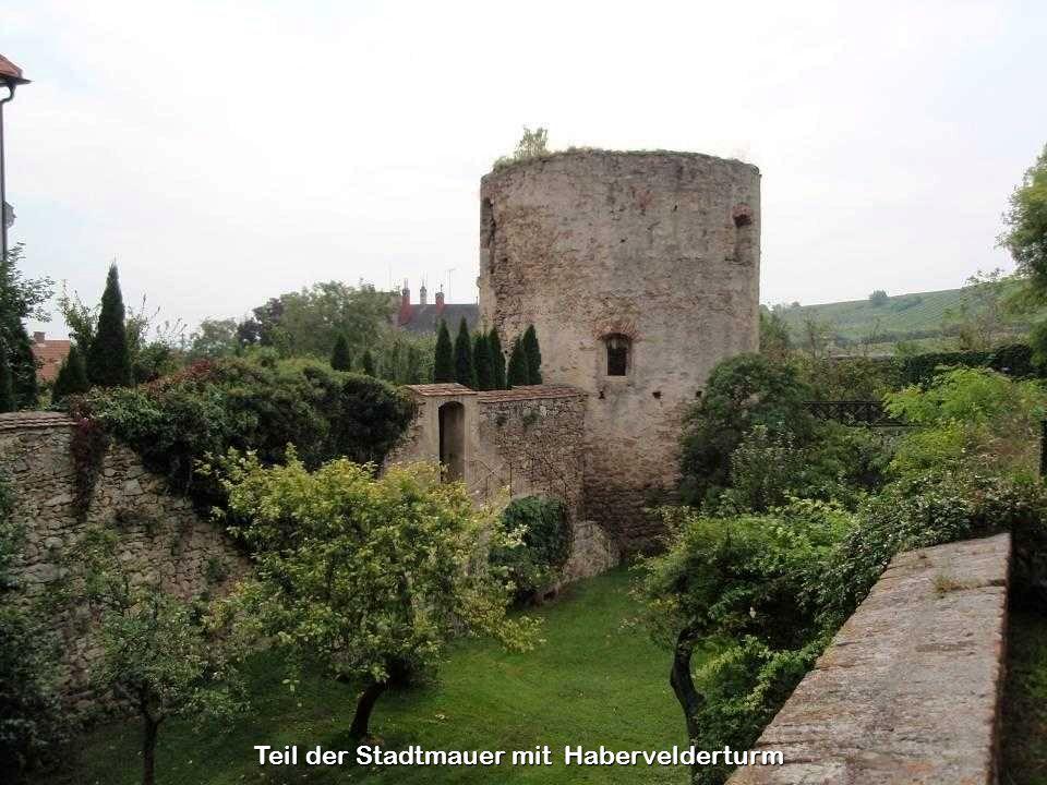Teil der Stadtmauer mit Habervelderturm