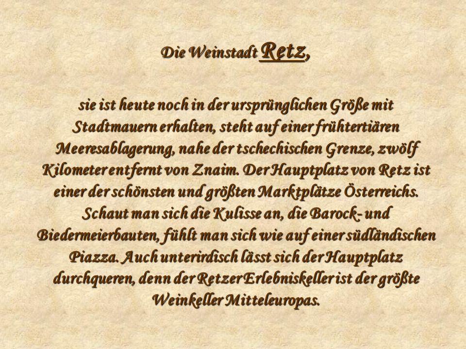 Die Weinstadt Retz,