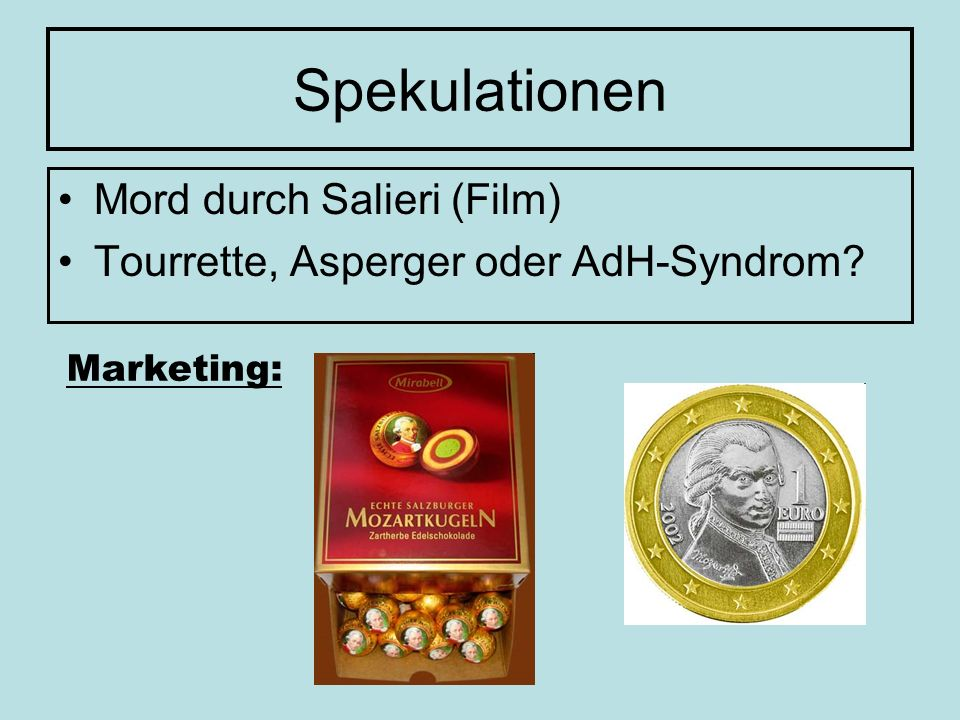 Spekulationen Mord durch Salieri (Film)