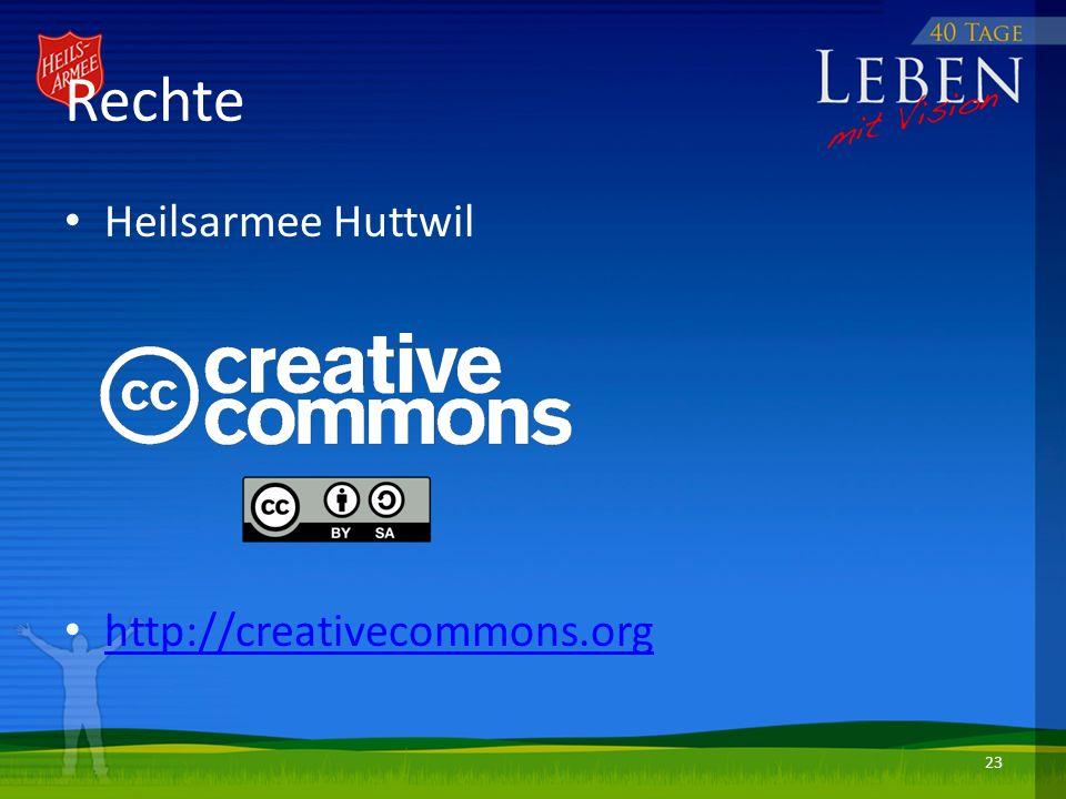 Rechte Heilsarmee Huttwil http://creativecommons.org