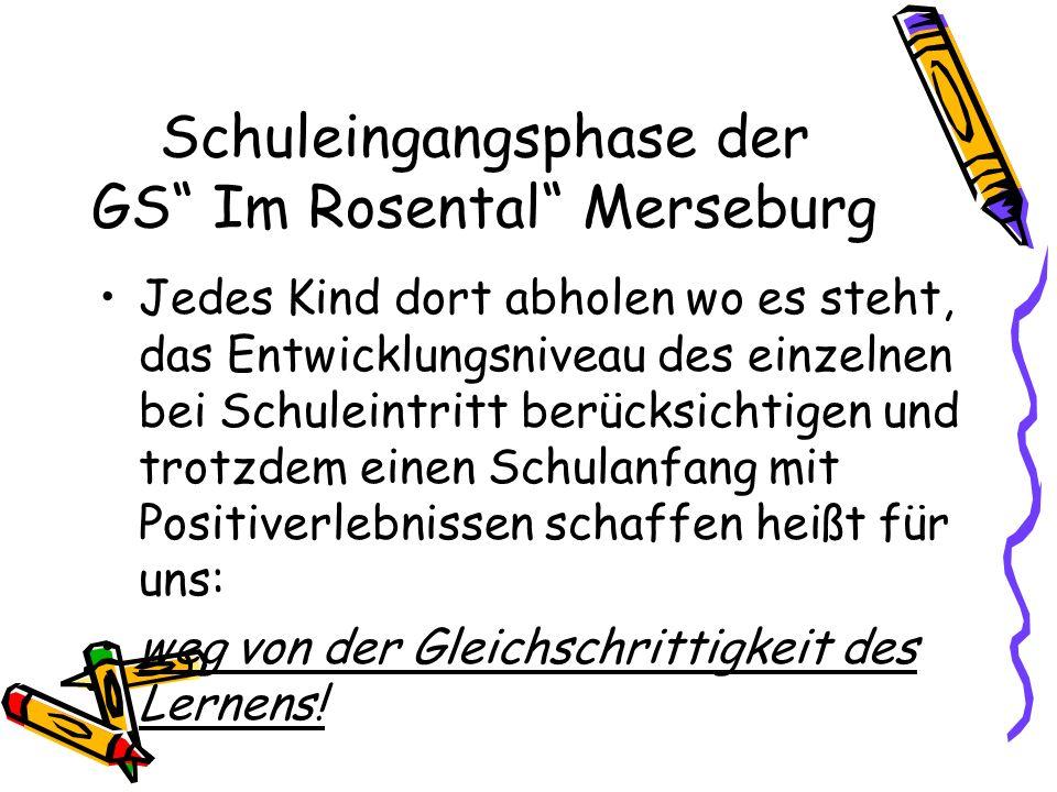 Schuleingangsphase der GS Im Rosental Merseburg
