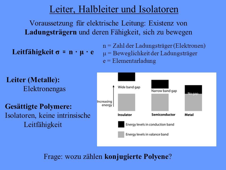 Leiter, Halbleiter und Isolatoren