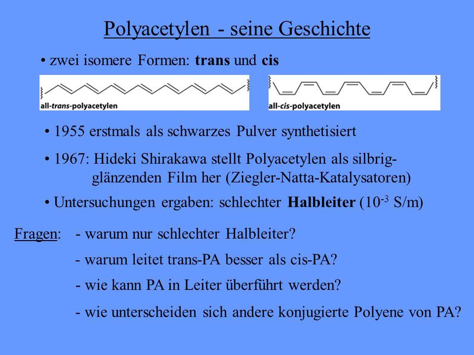 Polyacetylen - seine Geschichte