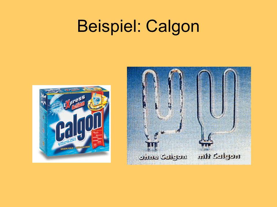 Beispiel: Calgon