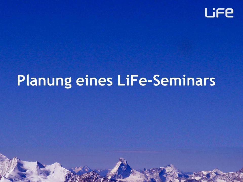 Planung eines LiFe-Seminars