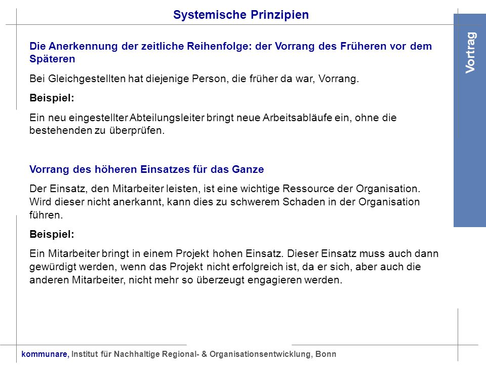 Systemische Prinzipien