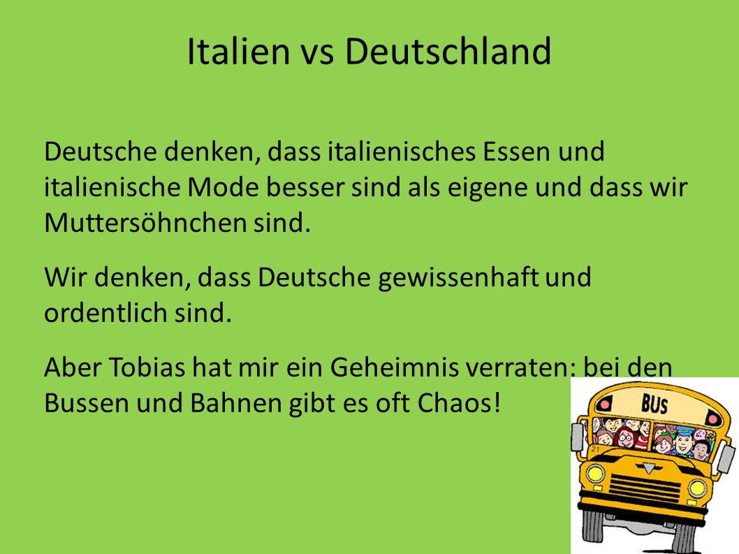 Italien vs Deutschland