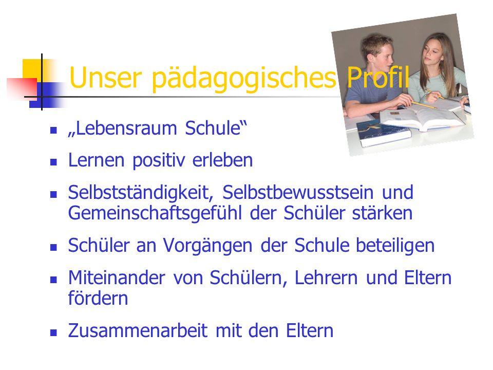 Unser pädagogisches Profil