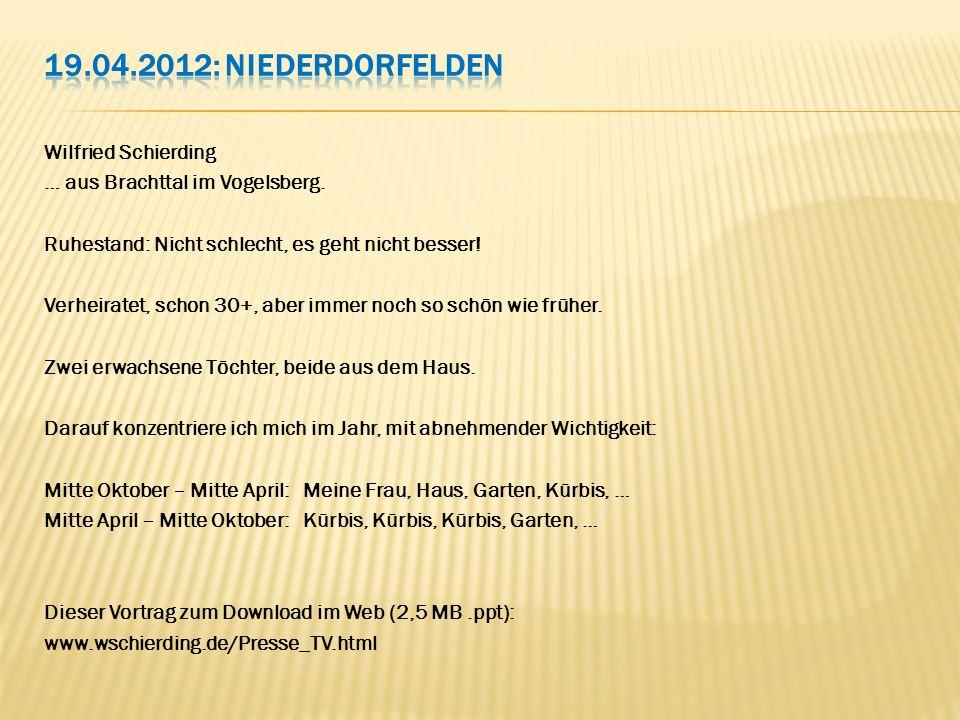 19.04.2012: Niederdorfelden