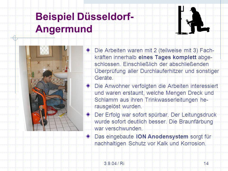 Beispiel Düsseldorf-Angermund