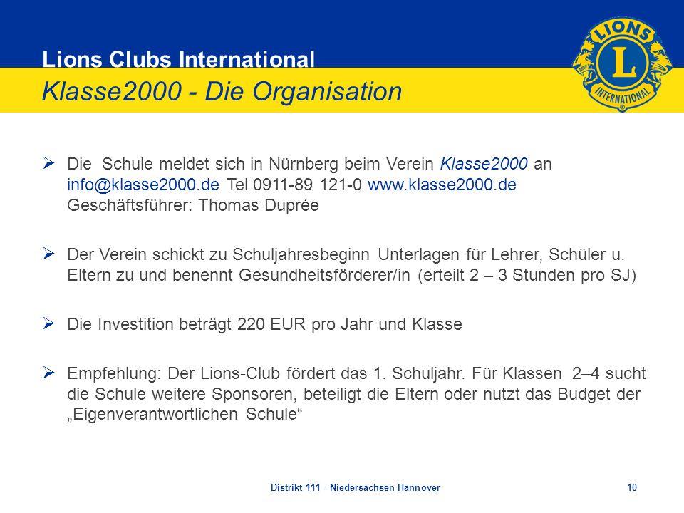 Klasse2000 - Die Organisation