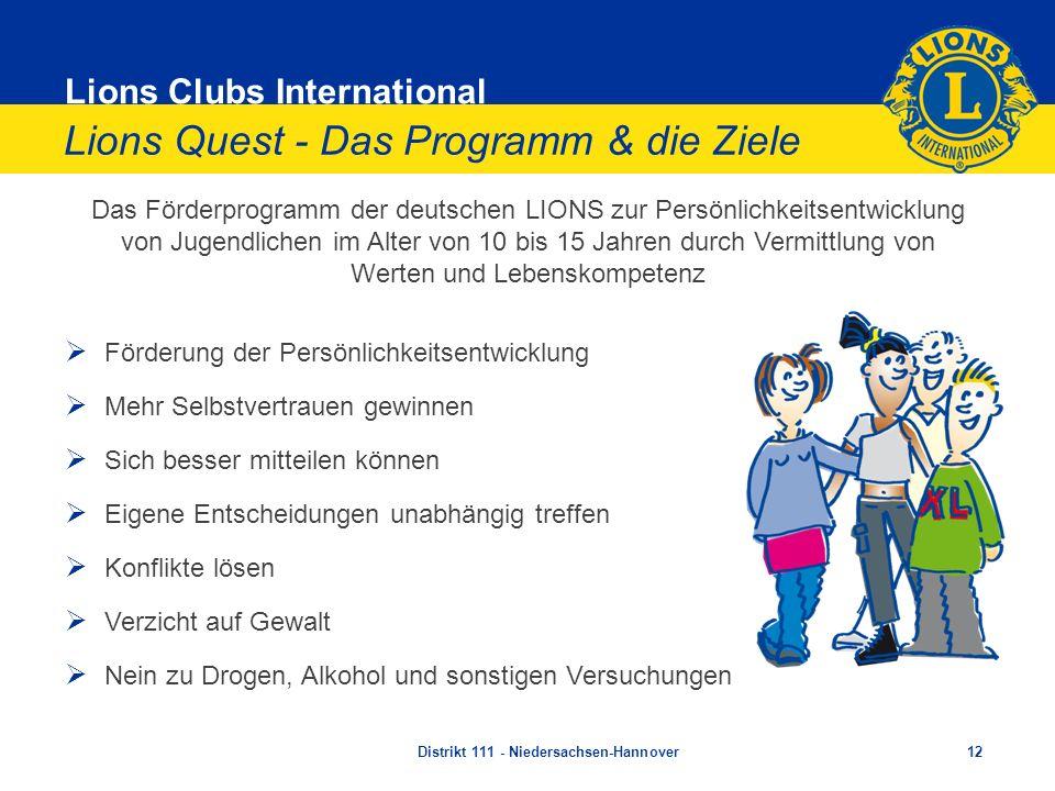 Lions Quest - Das Programm & die Ziele