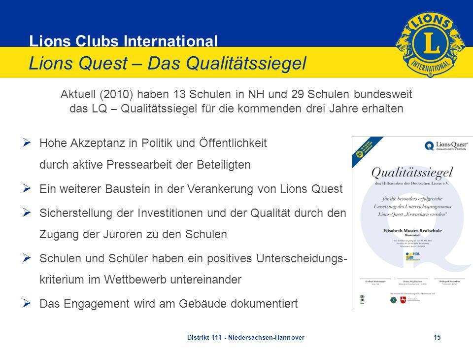 Lions Quest – Das Qualitätssiegel