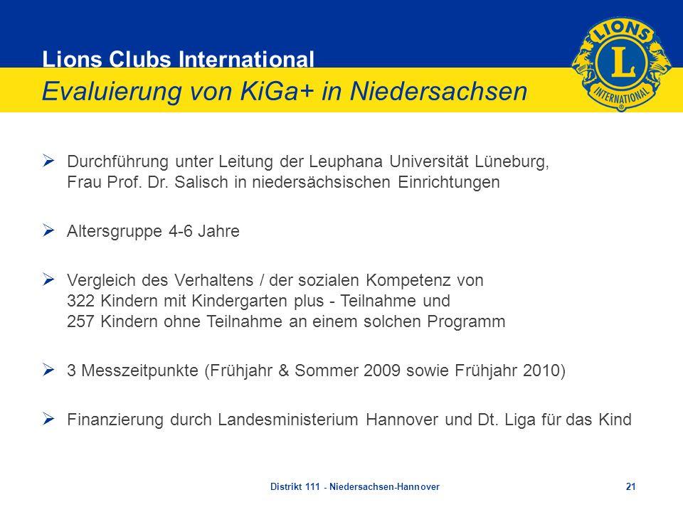 Evaluierung von KiGa+ in Niedersachsen