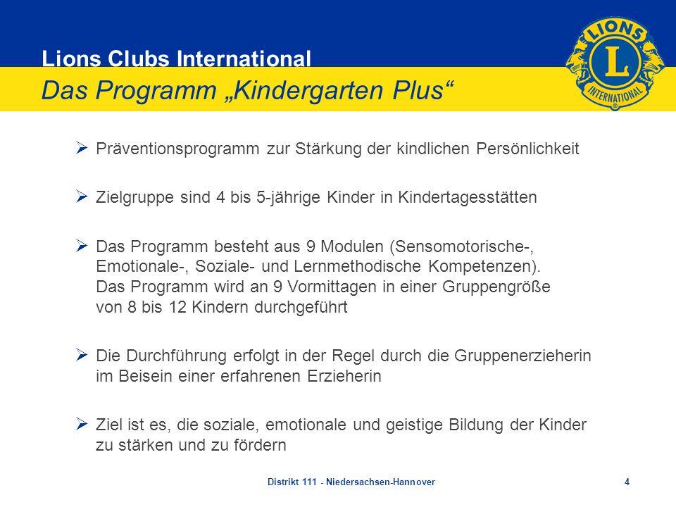 """Das Programm """"Kindergarten Plus"""