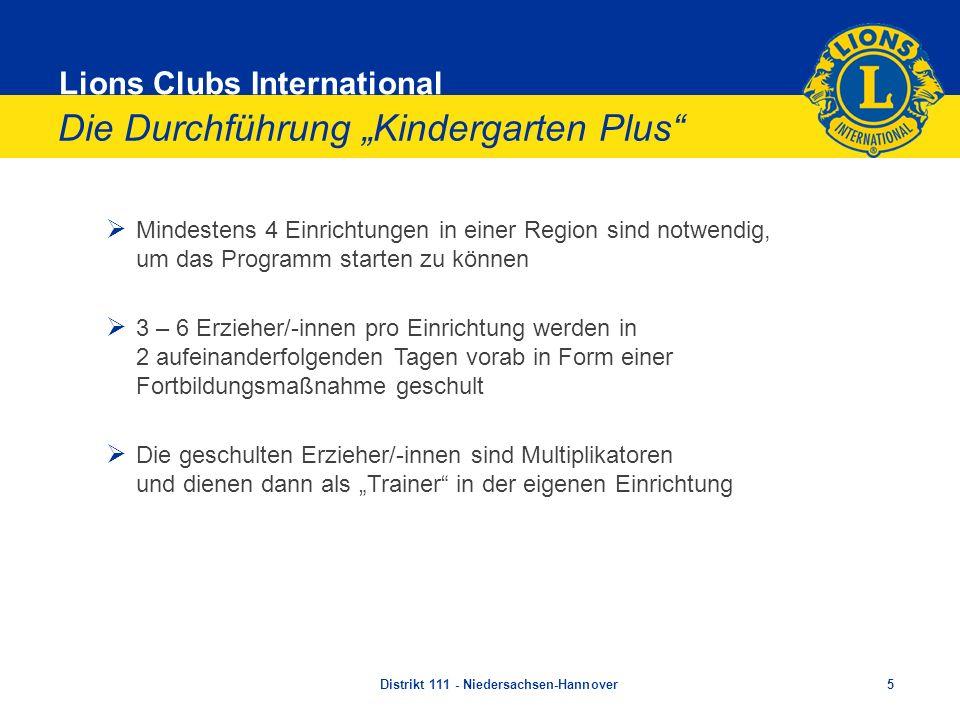 """Die Durchführung """"Kindergarten Plus"""