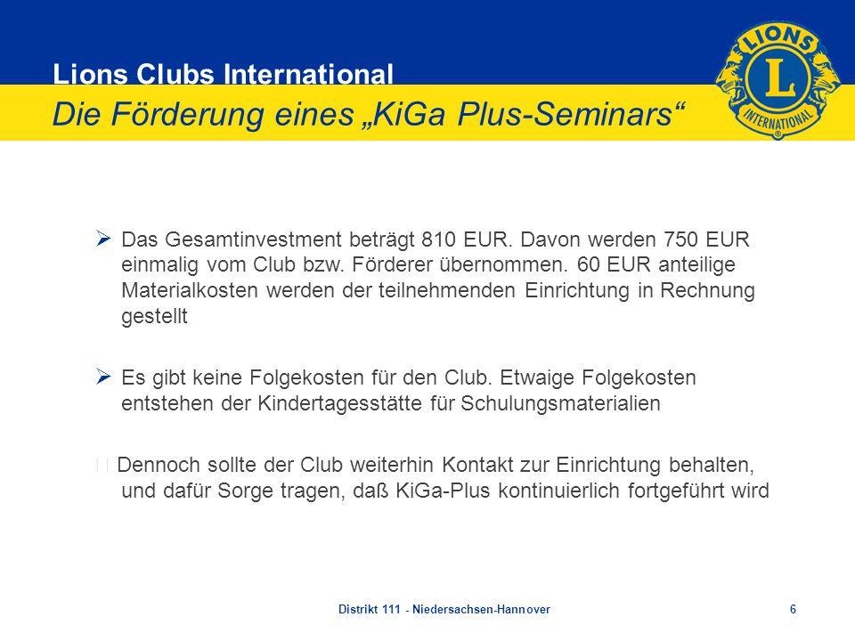 """Die Förderung eines """"KiGa Plus-Seminars"""