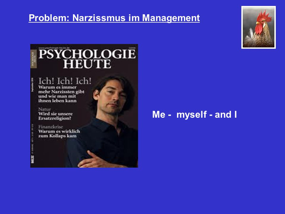 Problem: Narzissmus im Management