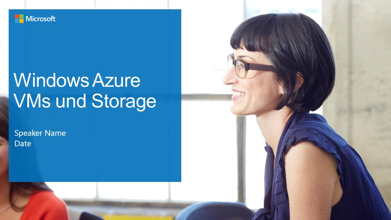 Windows Azure VMs und Storage