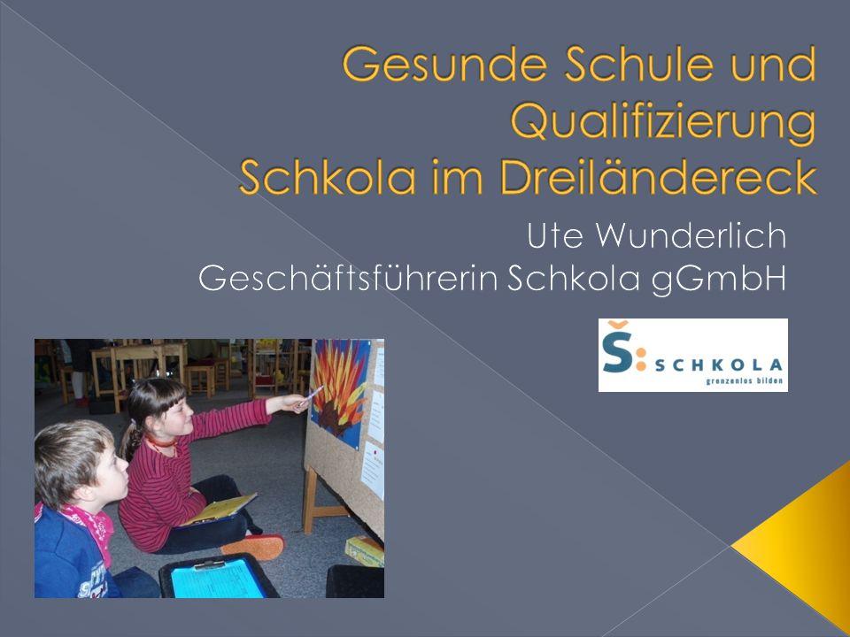 Gesunde Schule und Qualifizierung Schkola im Dreiländereck