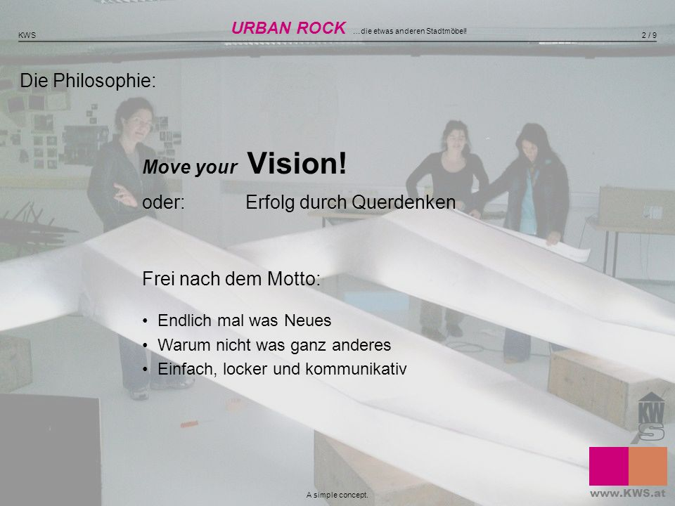 Move your Vision! oder: Erfolg durch Querdenken