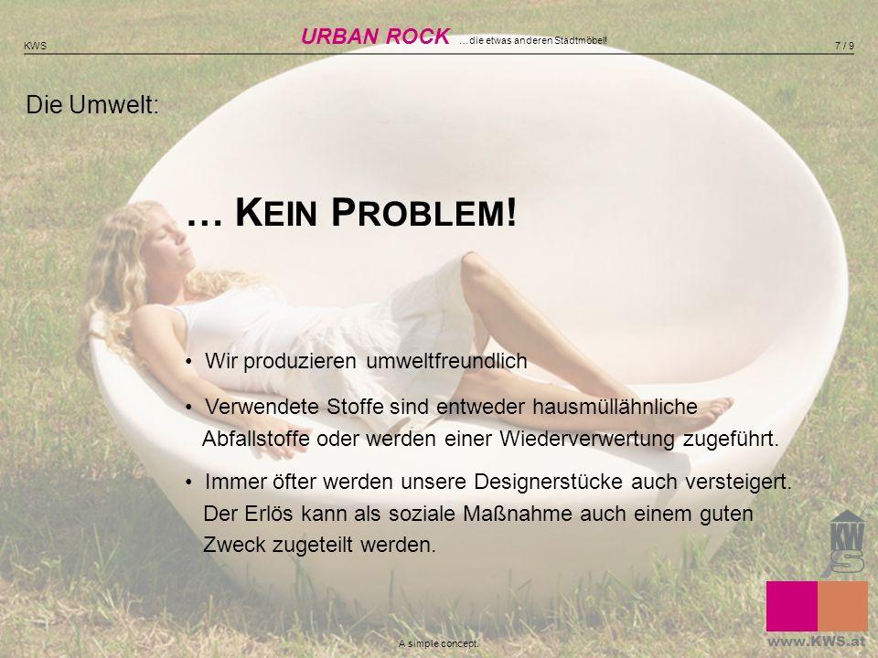 URBAN ROCK …die etwas anderen Stadtmöbel!