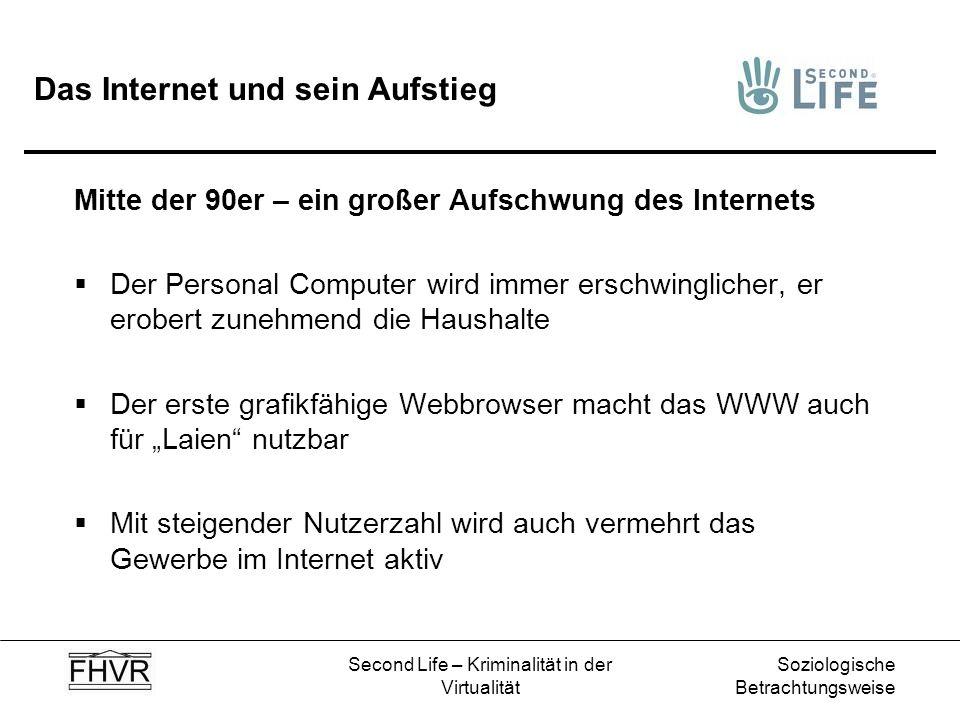 Das Internet und sein Aufstieg