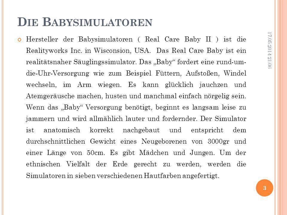 Die Babysimulatoren
