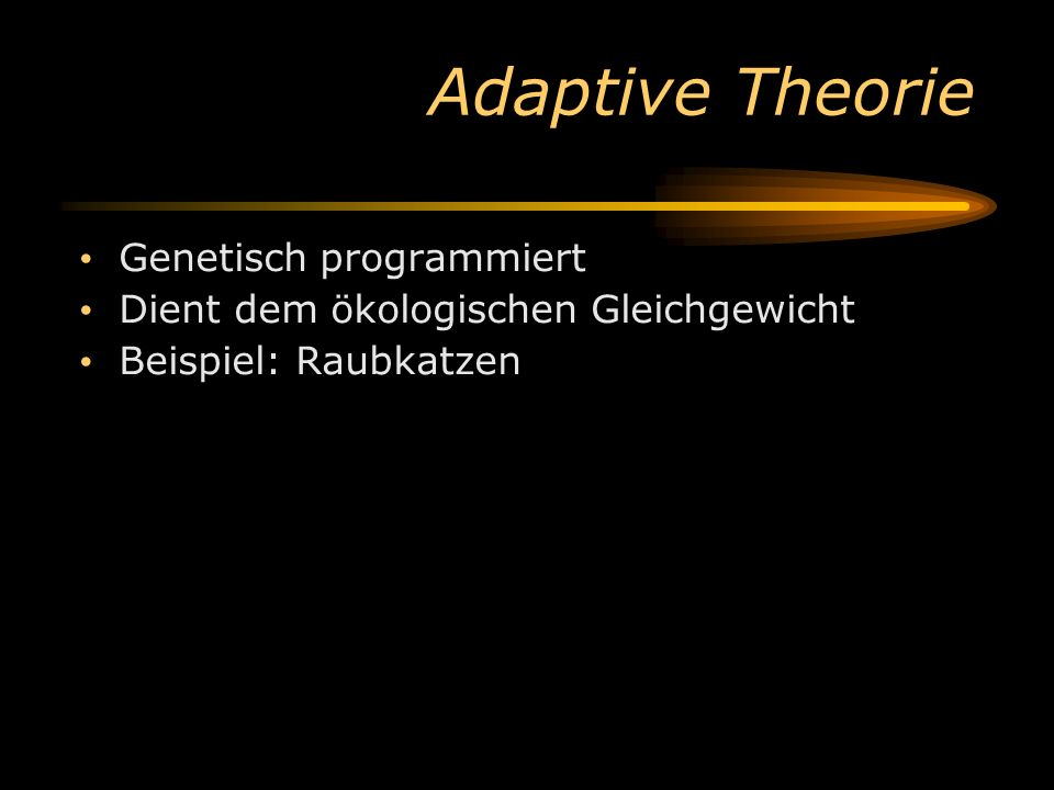 Adaptive Theorie Genetisch programmiert