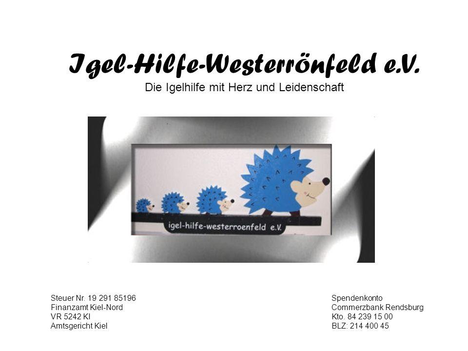 Igel-Hilfe-Westerrönfeld e.V.