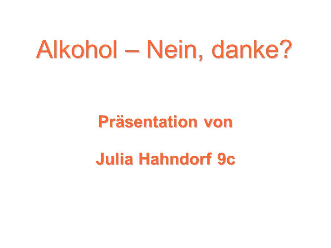 Präsentation von Julia Hahndorf 9c
