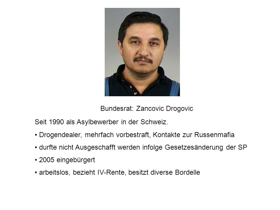 Bundesrat: Zancovic Drogovic