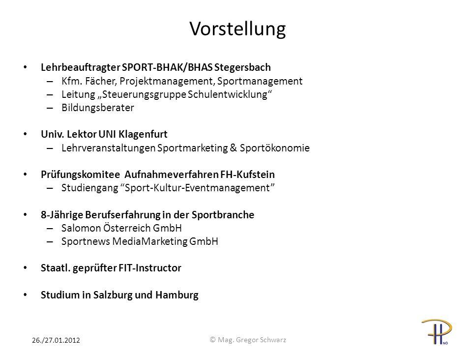 Vorstellung Lehrbeauftragter SPORT-BHAK/BHAS Stegersbach