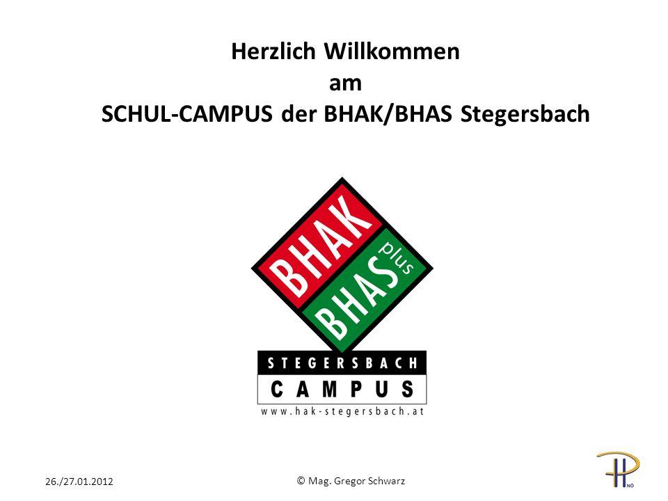 SCHUL-CAMPUS der BHAK/BHAS Stegersbach