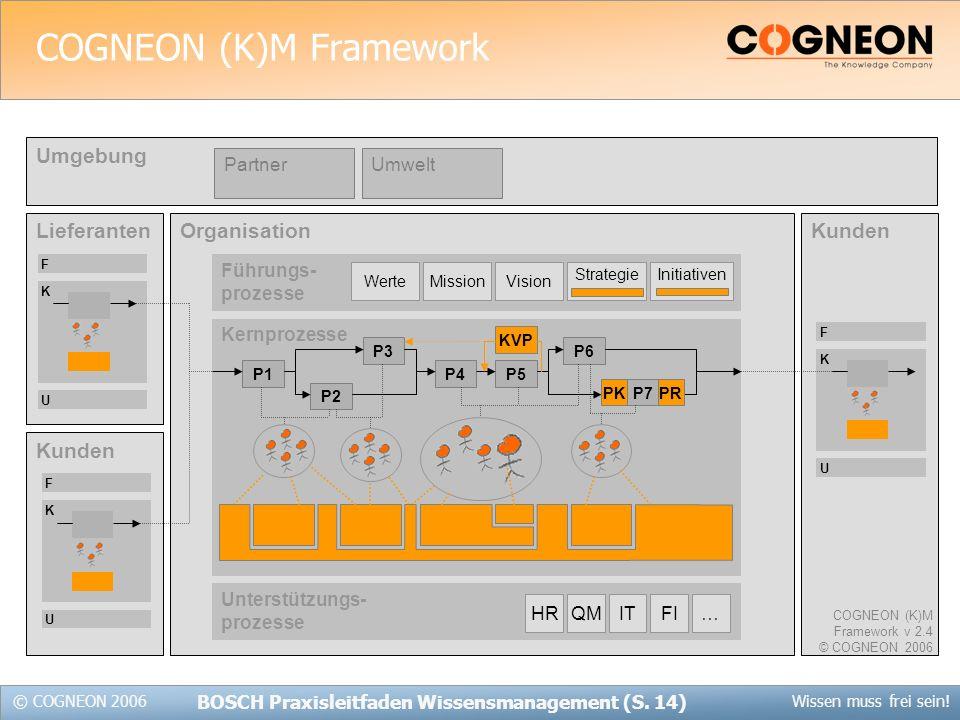 COGNEON (K)M Framework
