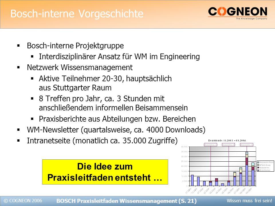 Bosch-interne Vorgeschichte