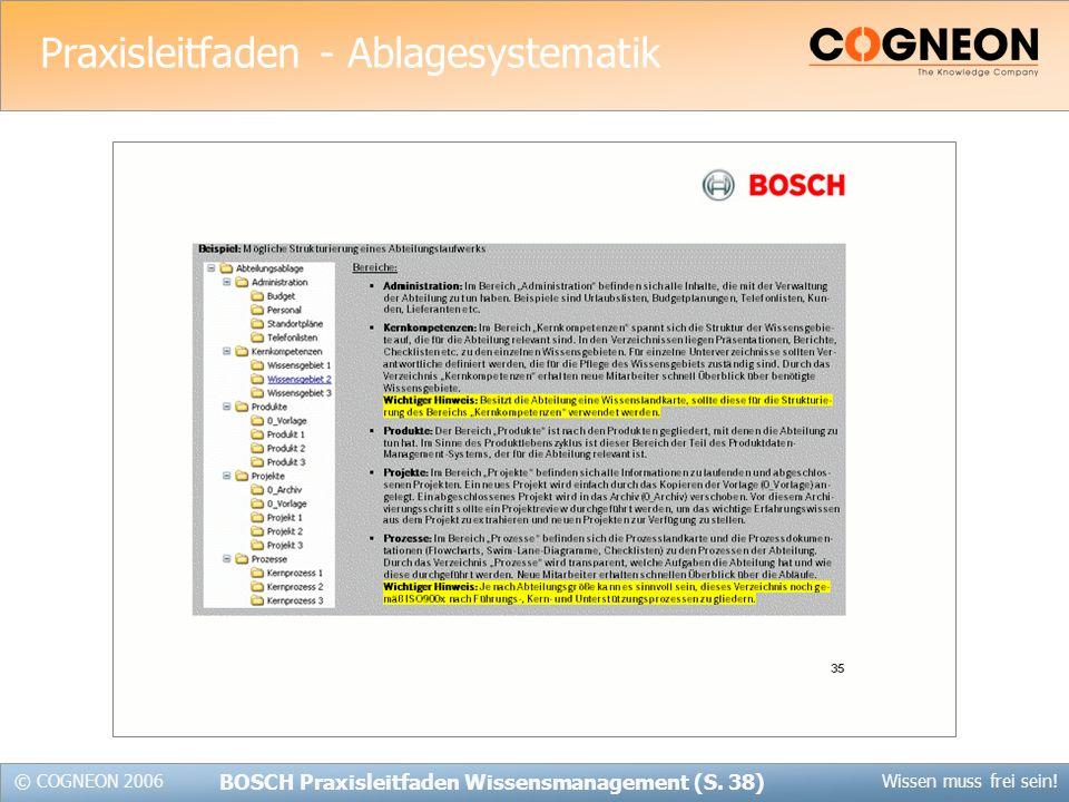 Praxisleitfaden - Ablagesystematik