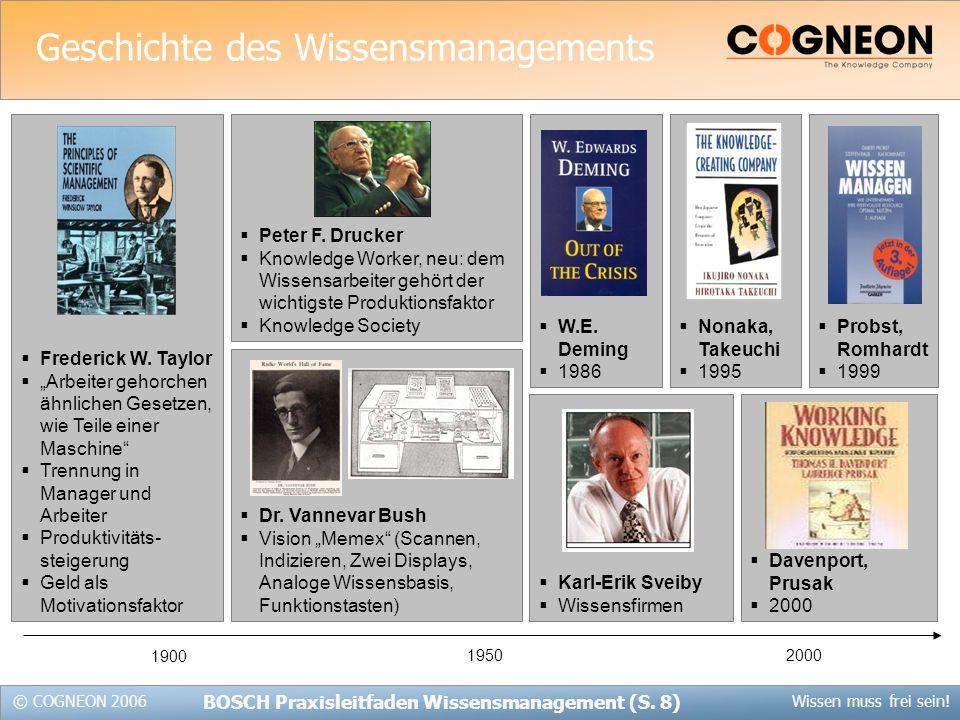 Geschichte des Wissensmanagements