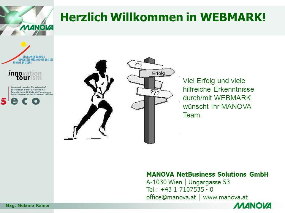 Herzlich Willkommen in WEBMARK!