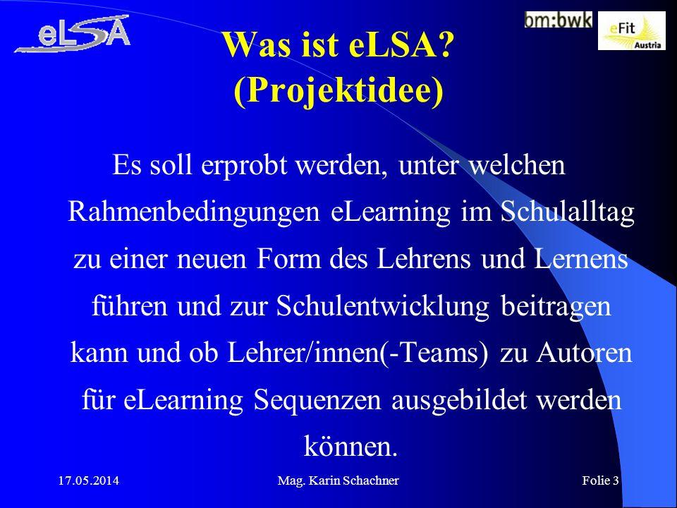 Was ist eLSA (Projektidee)