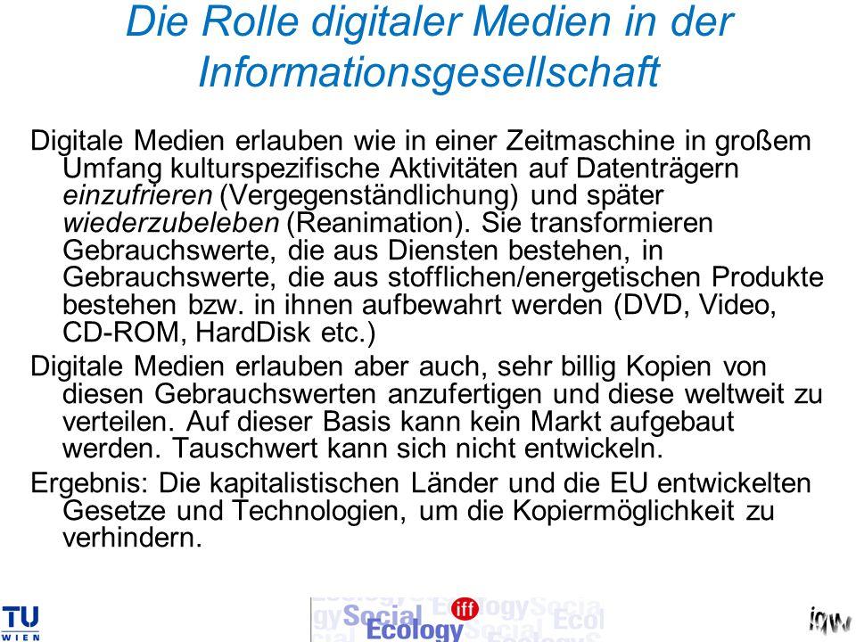 Die Rolle digitaler Medien in der Informationsgesellschaft