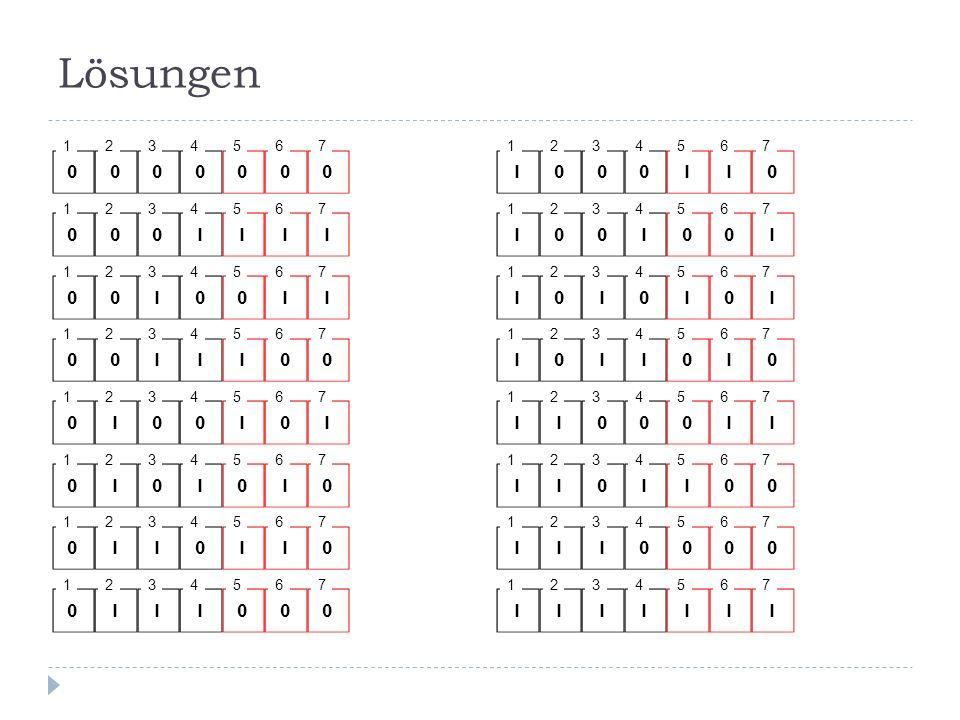 Lösungen 1. 2. 3. 4. 5. 6. 7. 1. 2. 3. 4. 5. 6. 7. 1. 2. 3. 4. 5. 6. 7. 1. 2.