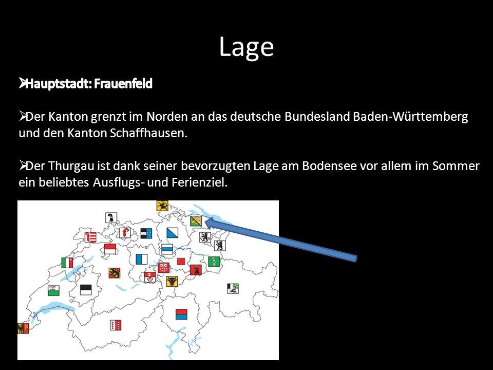 Lage Hauptstadt: Frauenfeld