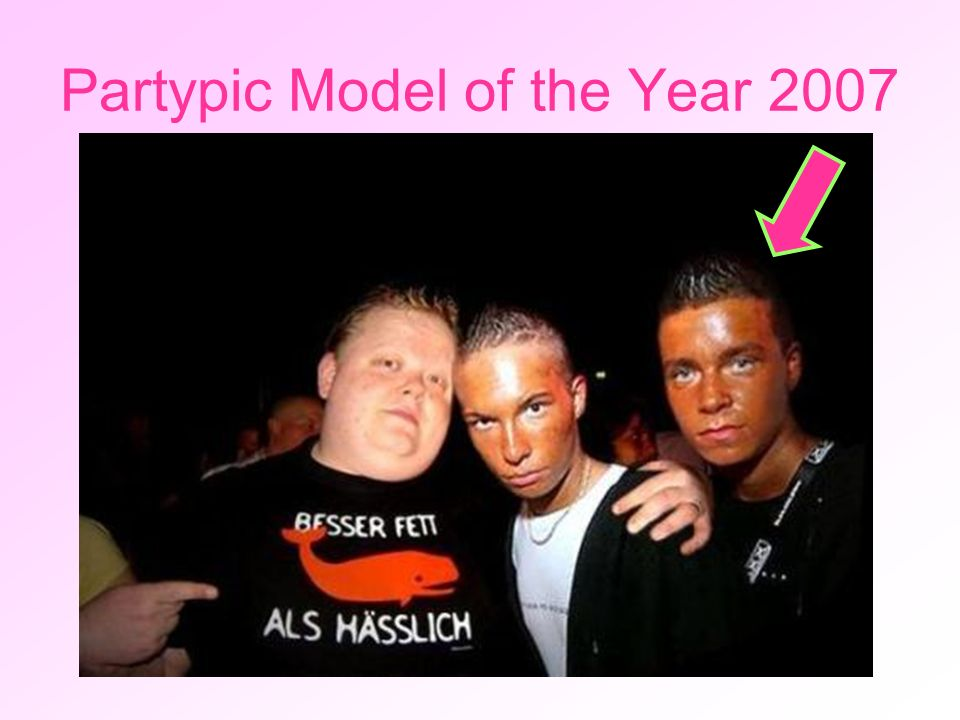 Partypic Model of the Year 2007
