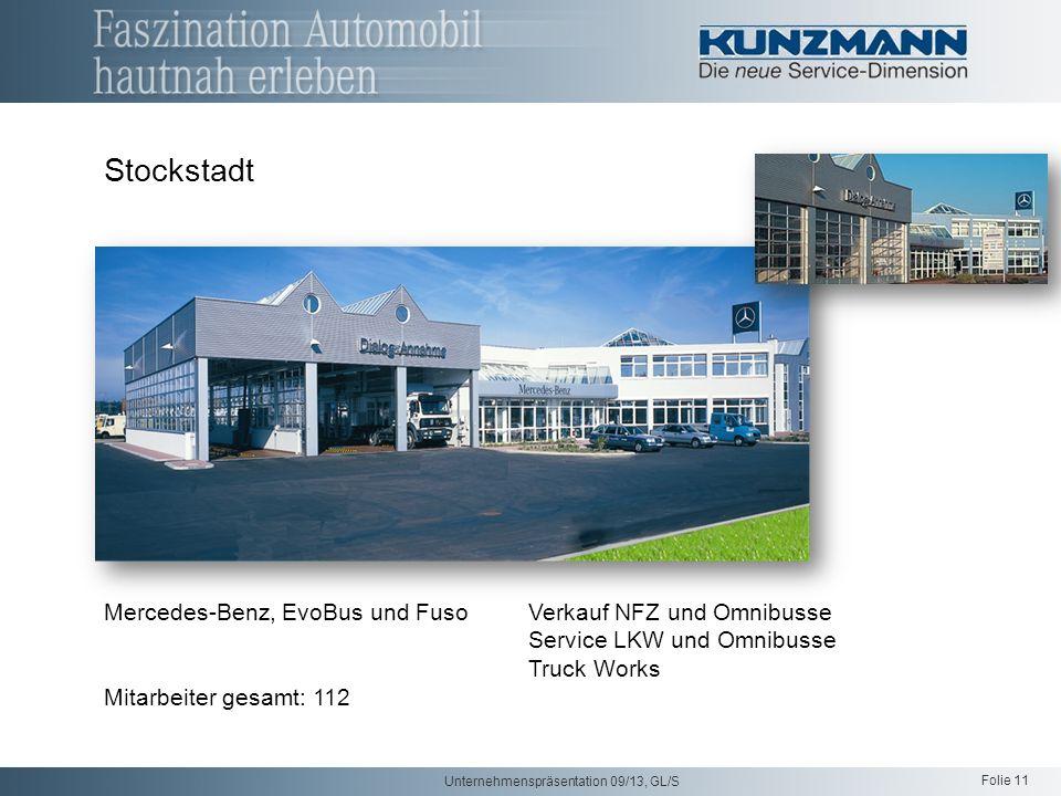 Stockstadt Mercedes-Benz, EvoBus und Fuso Verkauf NFZ und Omnibusse