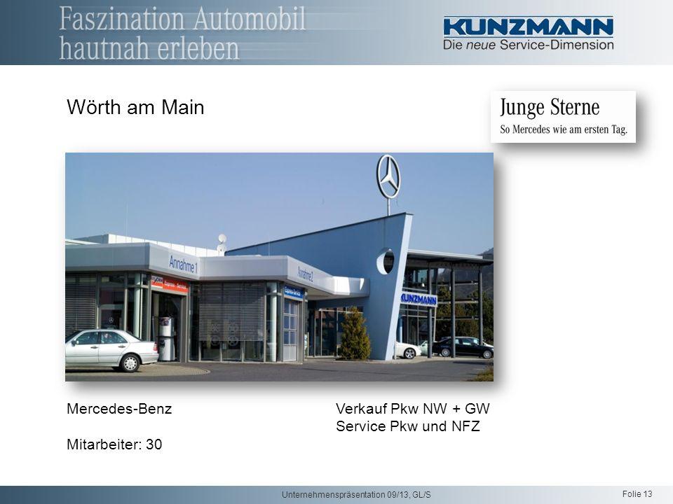 Wörth am Main Mercedes-Benz Verkauf Pkw NW + GW Service Pkw und NFZ