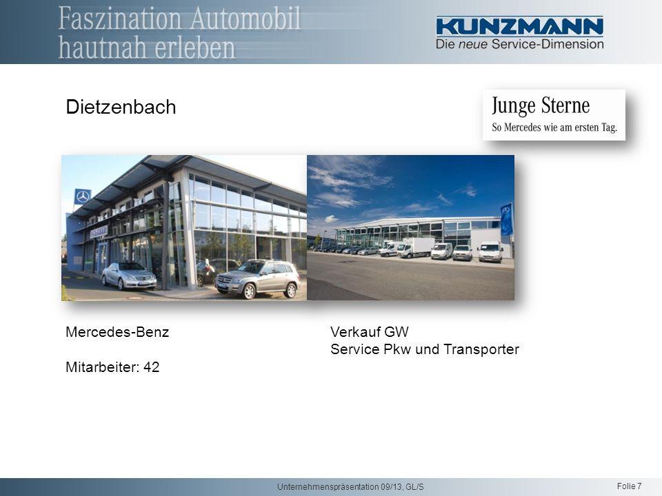 Dietzenbach Mercedes-Benz Verkauf GW Service Pkw und Transporter