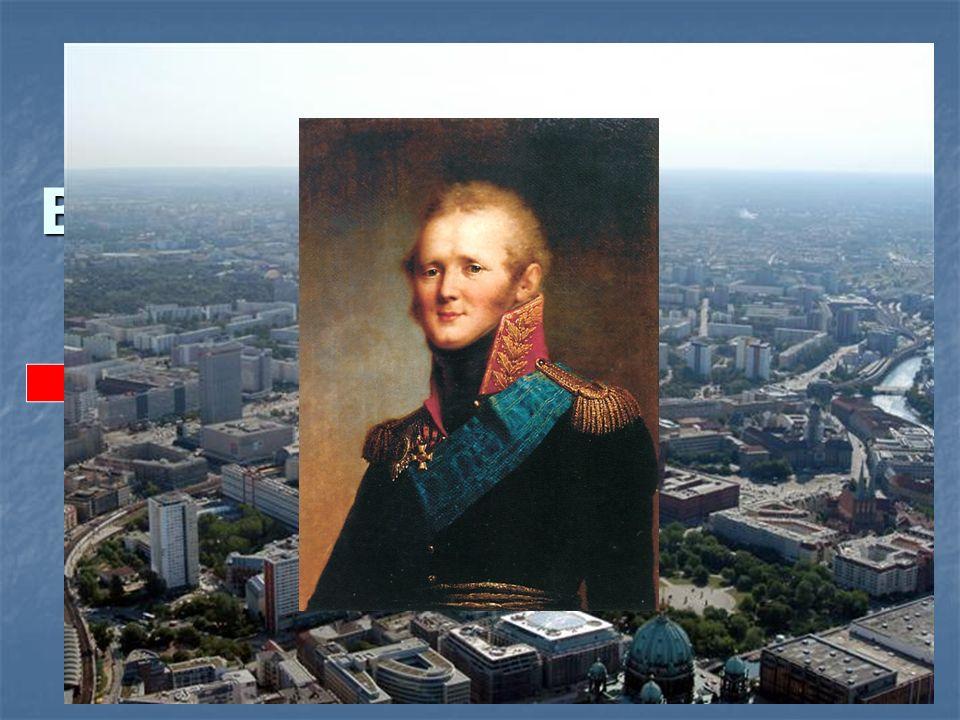 Der Alexanderplatz in Berlin trägt den Namen des russischen Zaren … .