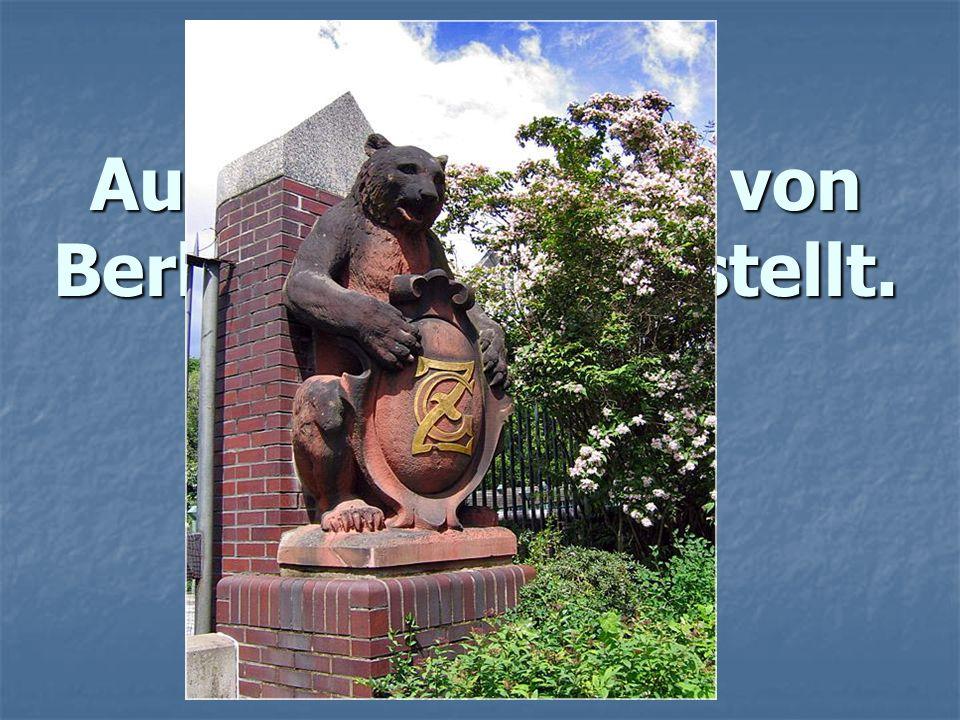 Auf dem Wappen von Berlin ist ... dargestellt.