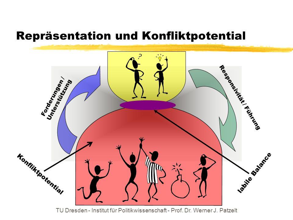 Repräsentation und Konfliktpotential